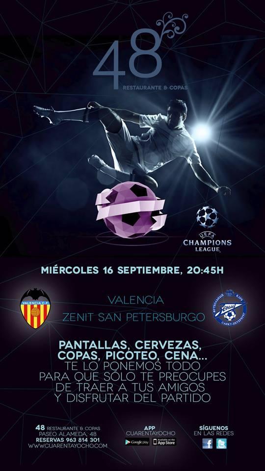 Valencia CF-Zenit San Petesburgo